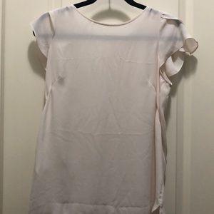 Loft cream blouse